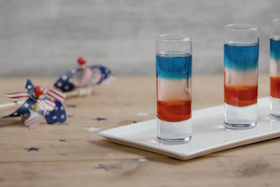 Play Video: How To Make A Red, White & Blue Shot