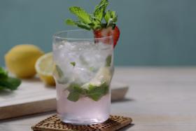 Play Video: How to make a Strawberry Lemonade Mojito