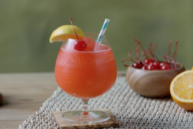 Play Video: How to make a Sunset Daiquiri