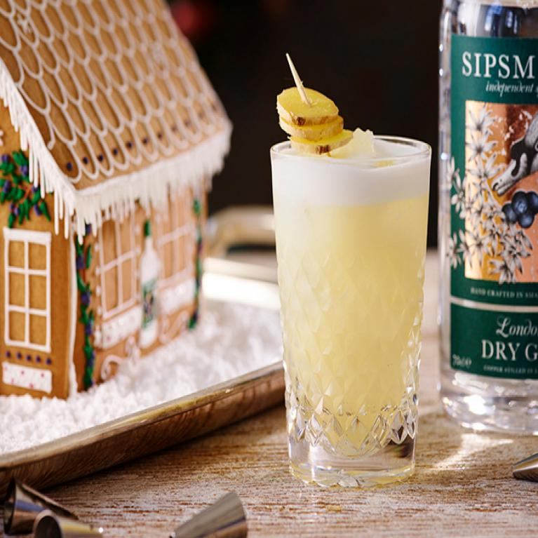 Gingerbread Sour | The Cocktail Project