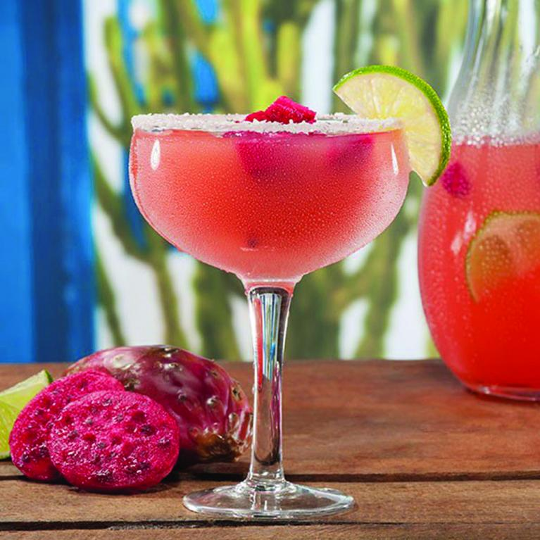 Prickly Pink Margarita | The Cocktail Project