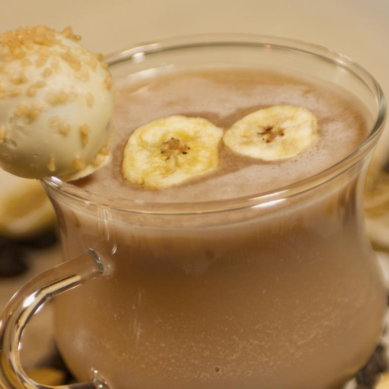 Banana Truffle-nog | The Cocktail Project