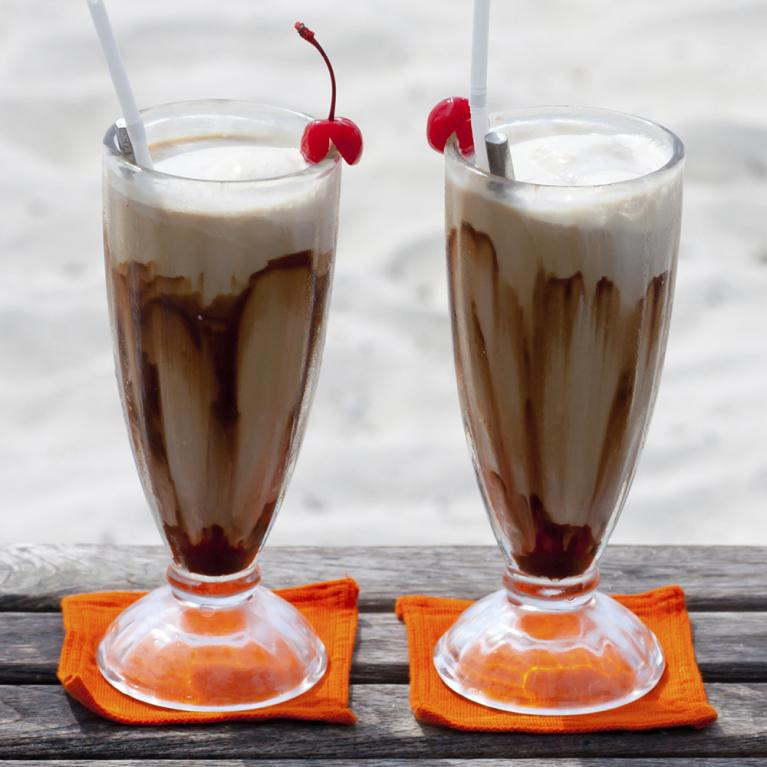 Chocolate Cherry Colada   The Cocktail Project
