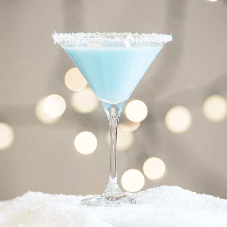 Coconut Snowball Martini | The Cocktail Project