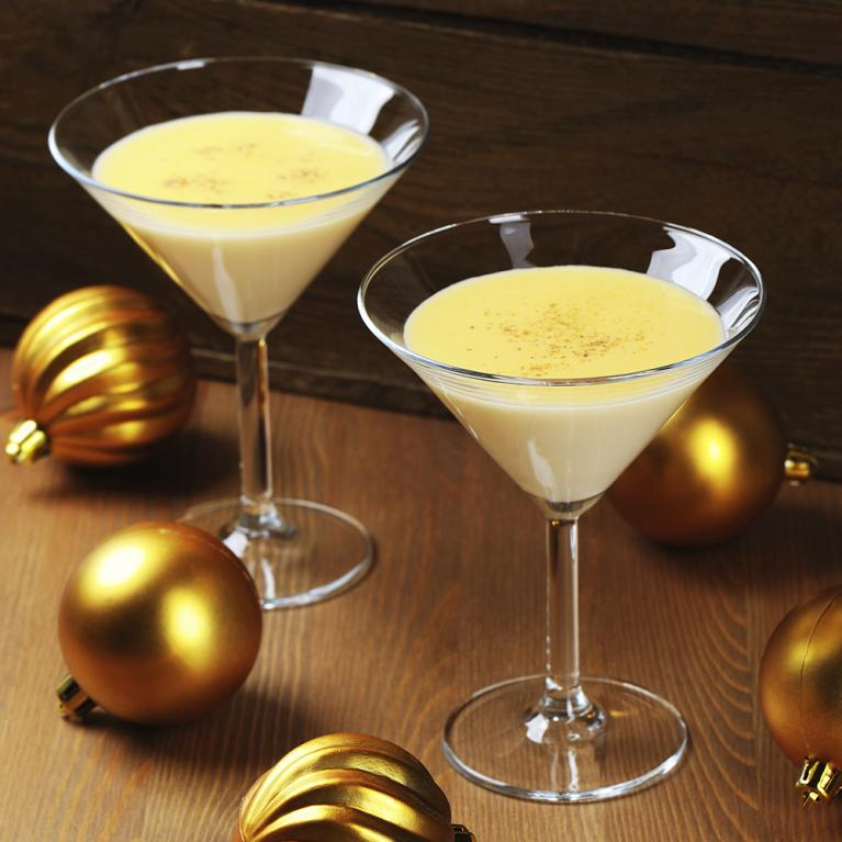 Eggnog Martini | The Cocktail Project