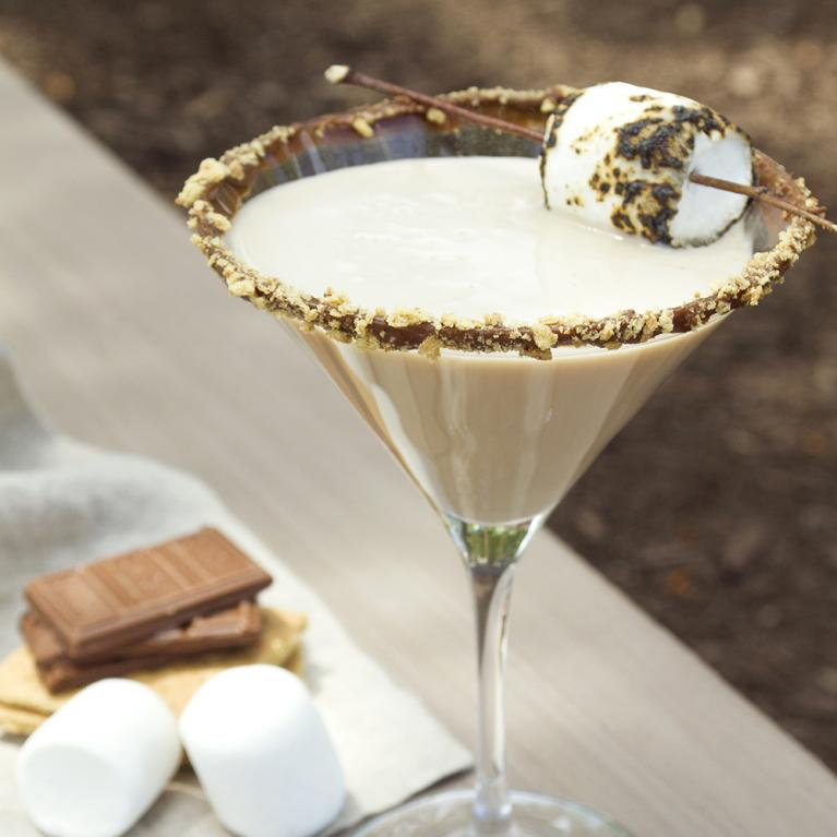 Smore-Tini | The Cocktail Project