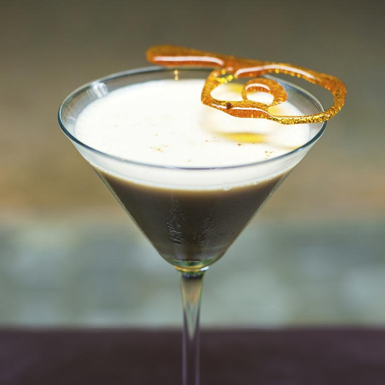 Toffee Drop Martini | The Cocktail Project
