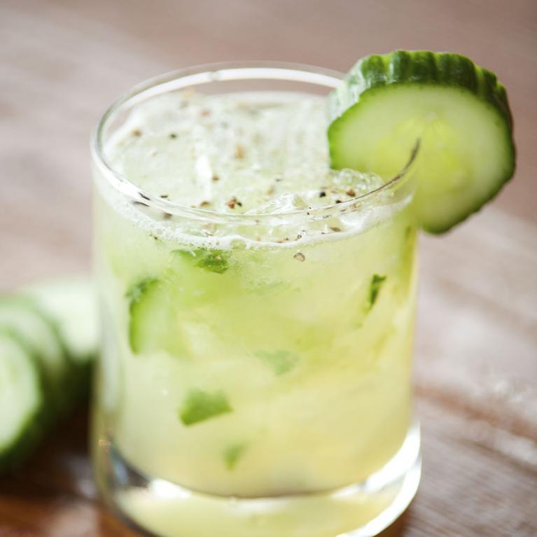 Honey Apple Cucumber | The Cocktail Project
