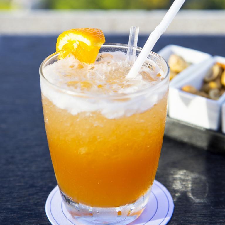 Kentucky Sunrise Bourbon Cocktails The Cocktail Project