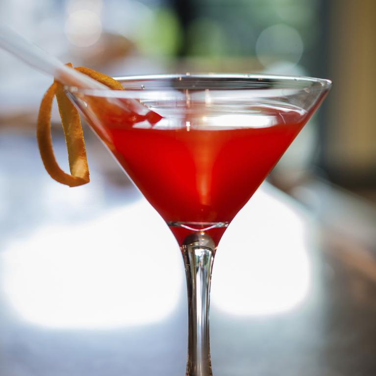 Red Greyhound Pinn-Tini | The Cocktail Project
