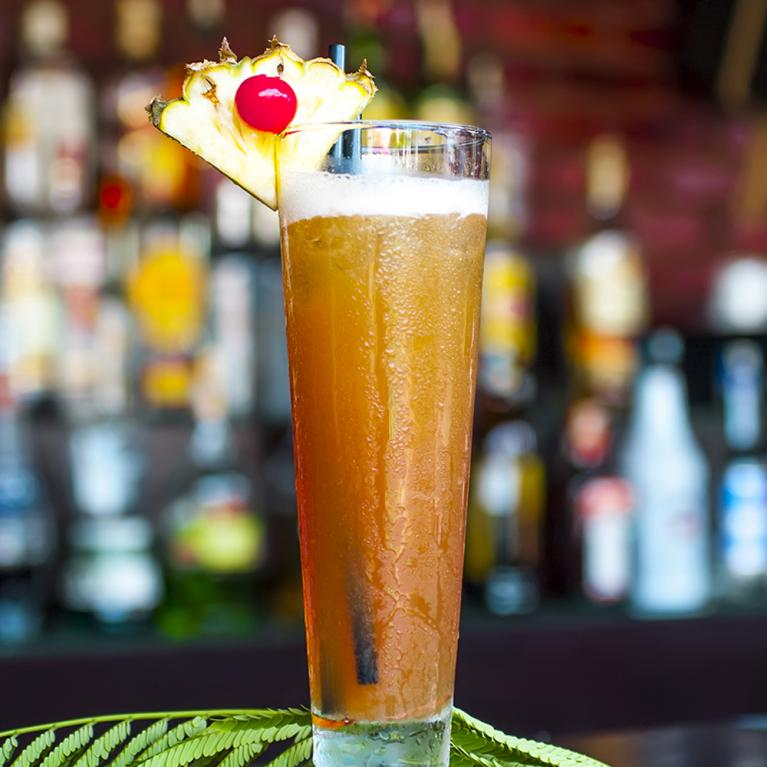 Rye in Paradise | The Cocktail Project
