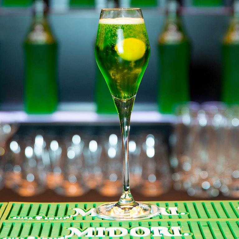 Midori® Sparkle | The Cocktail Project